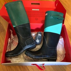 Hunter Boots Size 9.5